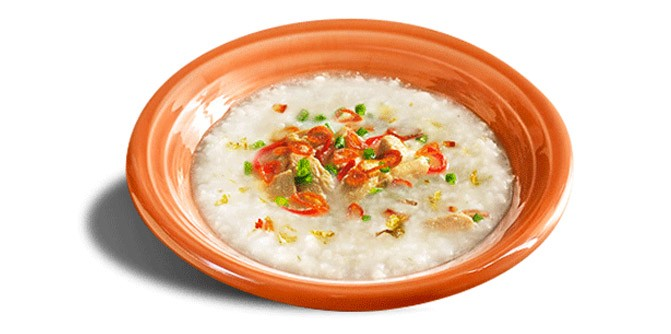 Random: McD's Chicken Porridge