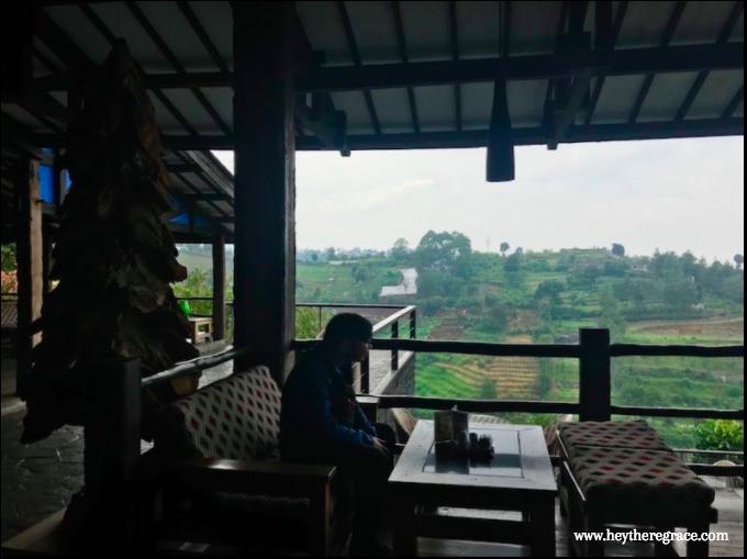 Rumah Miring Bandung - the view 1