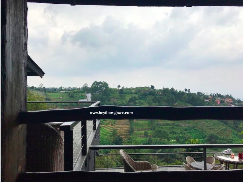 Rumah Miring Bandung - the view 3