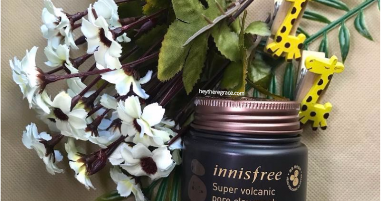 Review : Innisfree Super Volcanic Pore Clay Mask