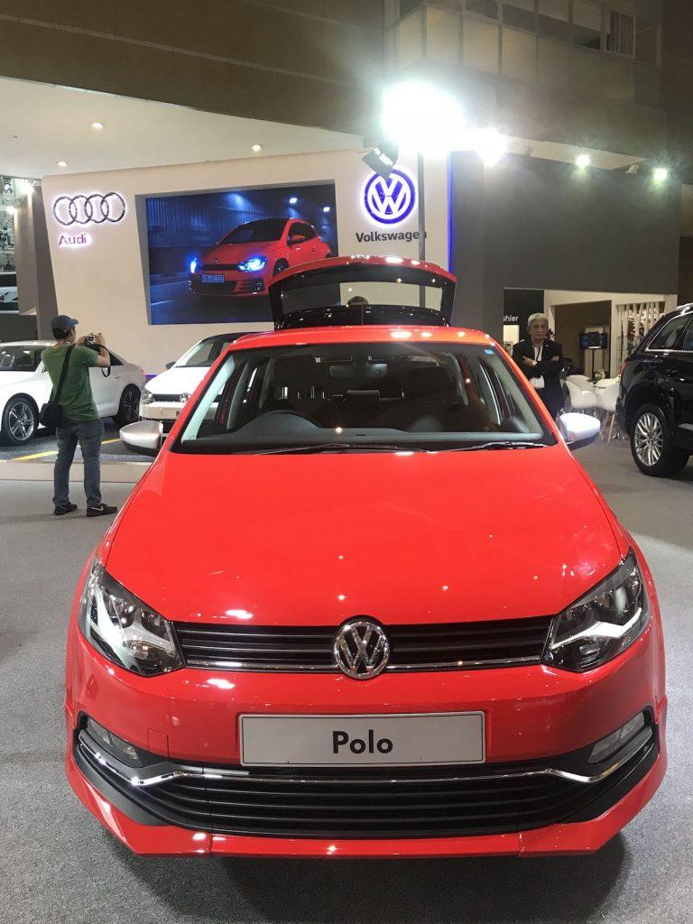 heytheregrace.com | Volkswagen Polo IIMS 2018 - front view