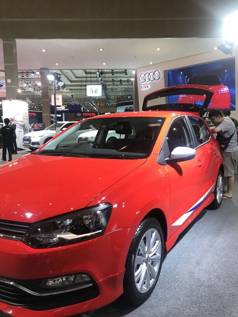 heytheregrace.com | Volkswagen Polo IIMS 2018 - side view