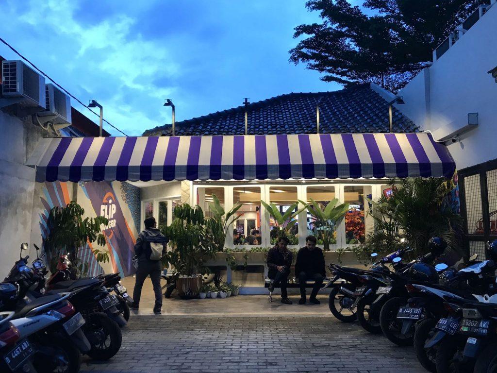 heytheregrace.com | Flip Burger Bandung - front