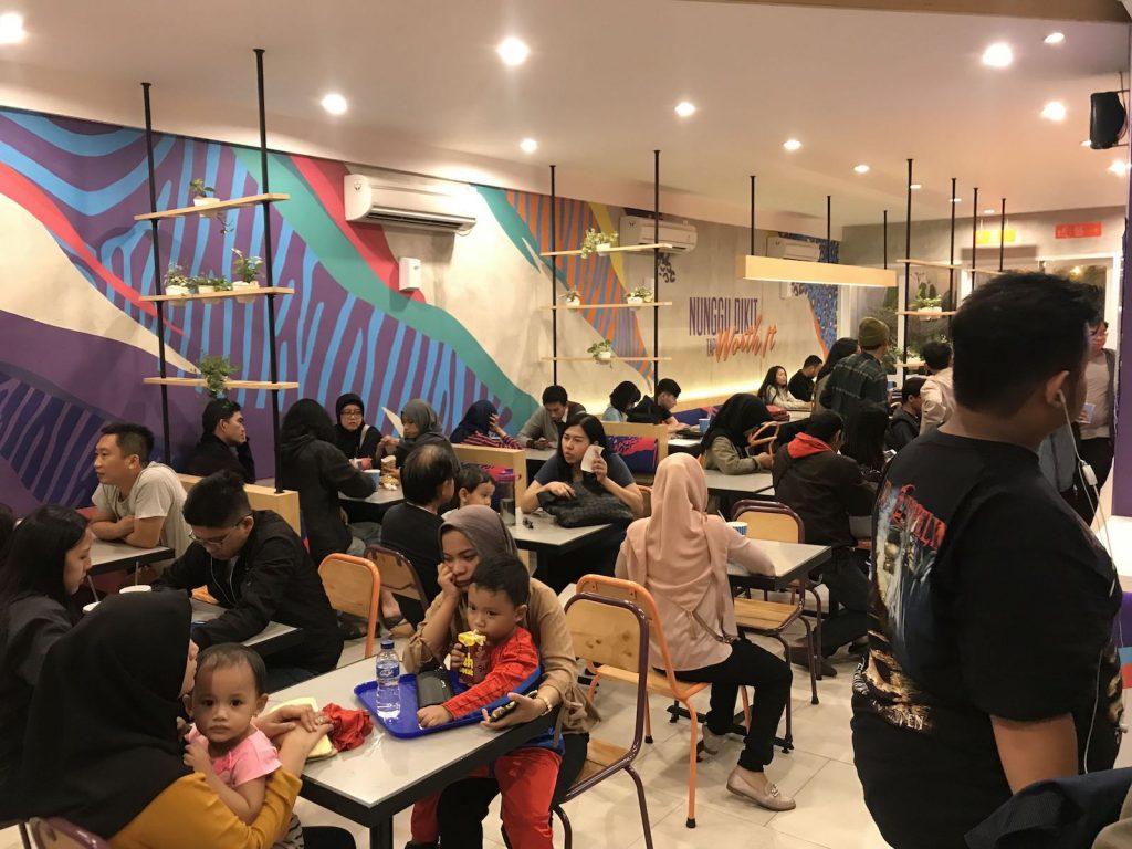 heytheregrace.com | Flip Burger Bandung - rame