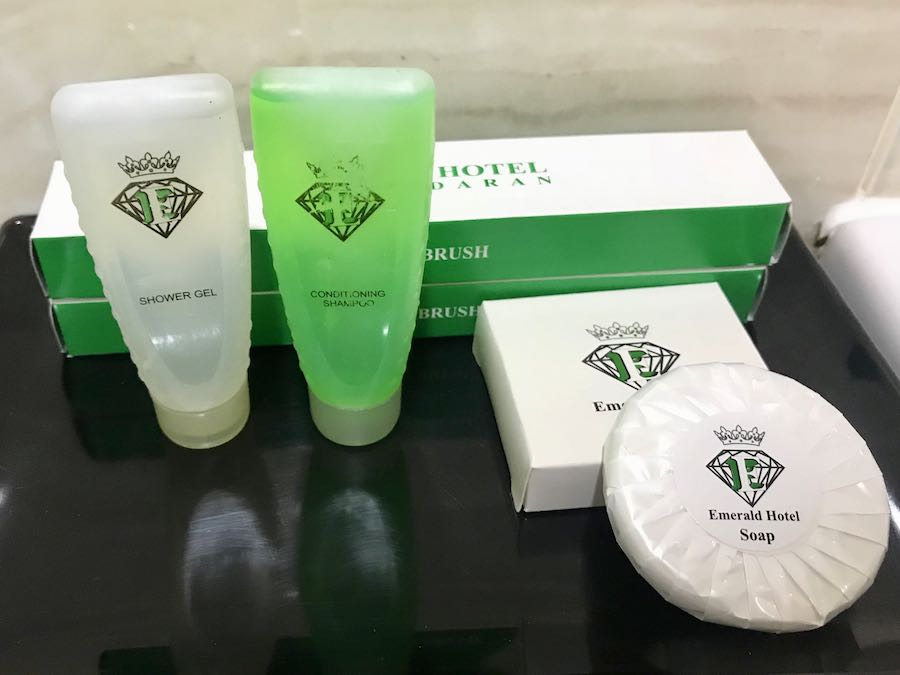 Emerald Hotel Pangandaran - Toiletries