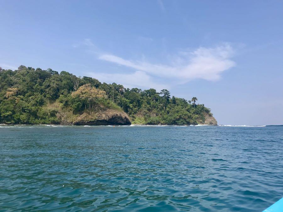 heytheregrace.com | View When Taking a Boat at Pantai Pangandaran