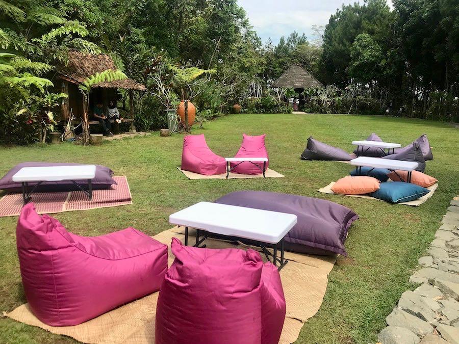 heytheregrace.com | Villa Aman D'Sini - Bean Bag Area
