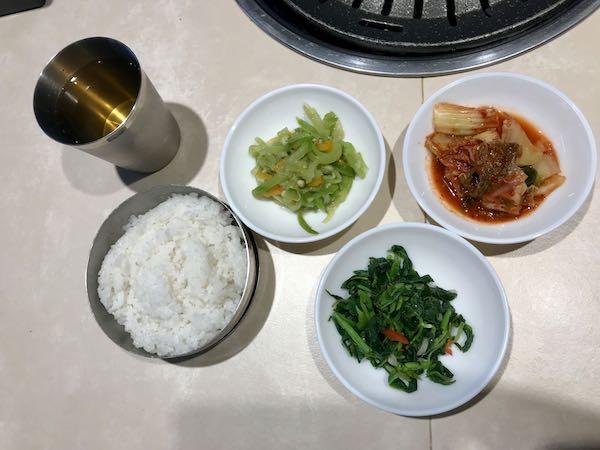 heytheregrace.com | Yokiyo Bandung - Rice, Sidedish, and Boricha