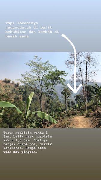 heytheregrace.com | Trekking ke Sanghyang Heuleut