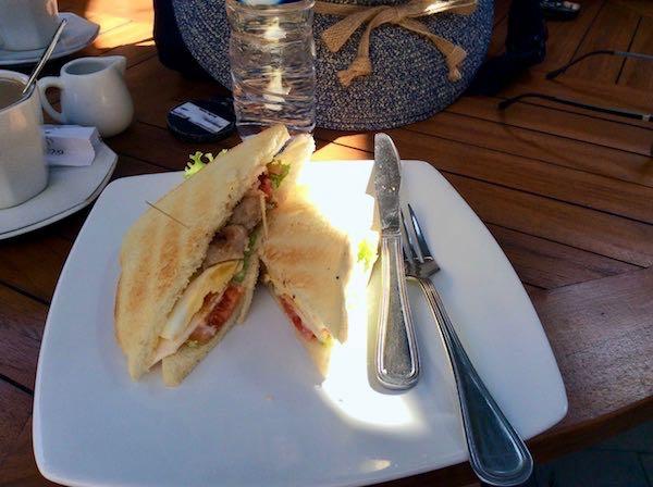 heytheregrace.com | Sandwich for Breakfast at Watu Agung Guest House