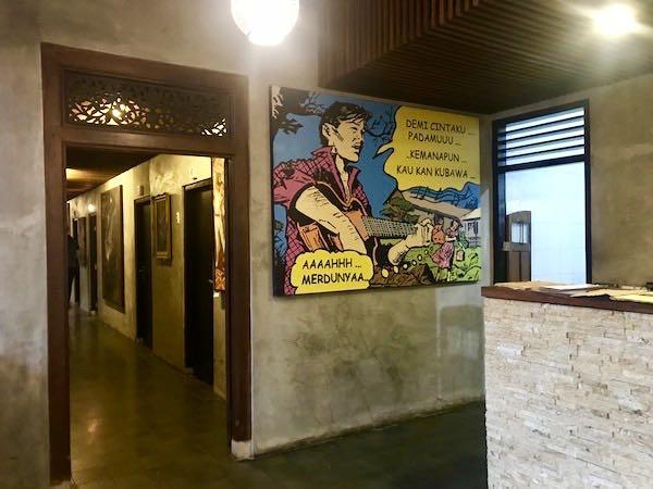 heytheregrace.com | Watu Agung Guest House - Pop Art Painting