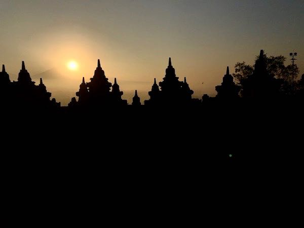 heytheregrace.com | Sunrise at Borobudur 2