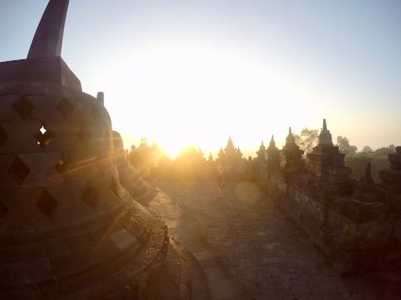 heytheregrace.com | Sunrise at Borobudur 4