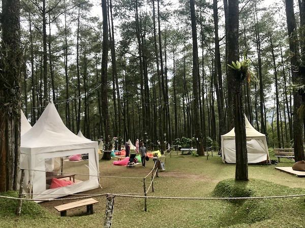 heytheregrace.com | Bean Bags Area at Orchid Forest Lembang