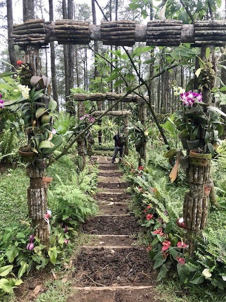 heytheregrace.com | Wooden Gate at Orchid Forest Lembang