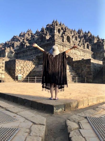 heytheregrace.com | Me at Borobudur 2