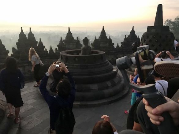 heytheregrace.com | Sunrise at Borobudur - Crowd 3
