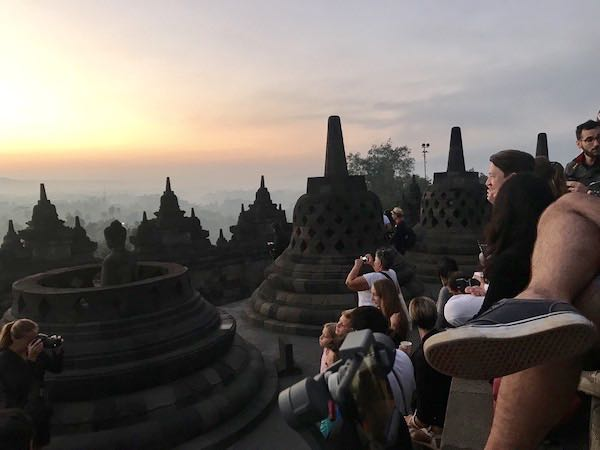 heytheregrace.com | Sunrise at Borobudur - Crowd 4