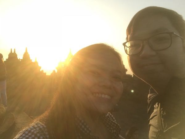 heytheregrace.com | Sunrise at Borobudur 14
