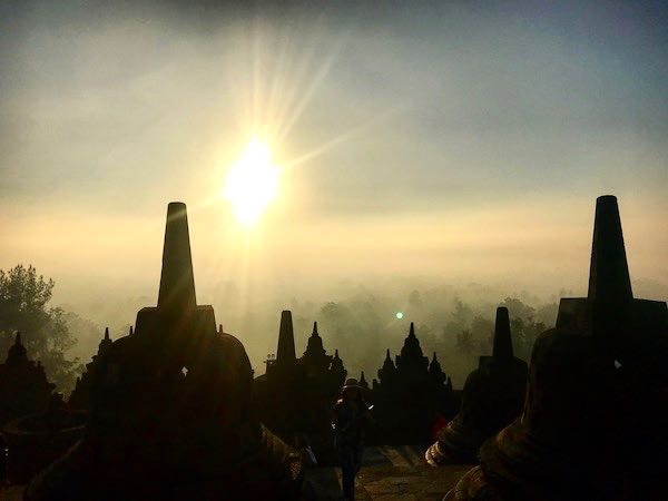 heytheregrace.com | Sunrise at Borobudur 18