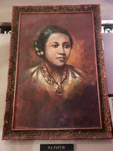 heytheregrace.com | Painting of RA Kartini | Lukisan Wajah RA Kartini