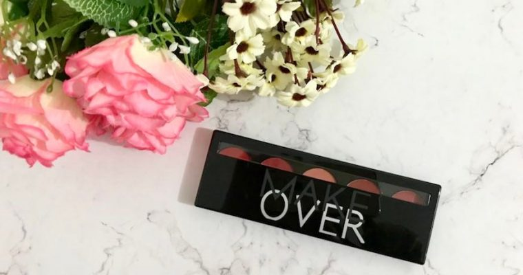 Make Over Lip Color Palette Retro Red Review (Bahasa Indonesia)