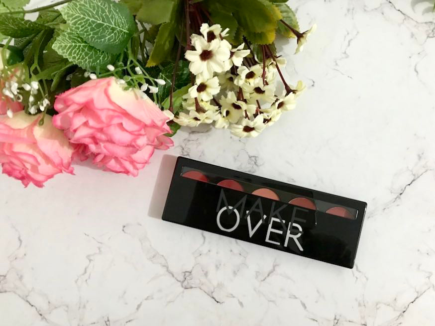 heytheregrace.com | Make Over Lip Color Palette Retro Red Review (Bahasa Indonesia) - packaging 1