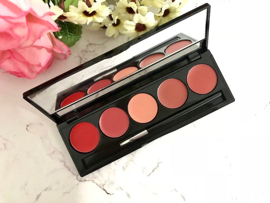 heytheregrace.com | Make Over Lip Color Palette Retro Red Review (Bahasa Indonesia) - color swatch 2