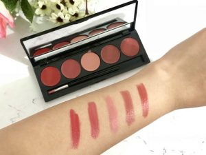 heytheregrace.com | Make Over Lip Color Palette Retro Red Review (Bahasa Indonesia) - color swatch 4
