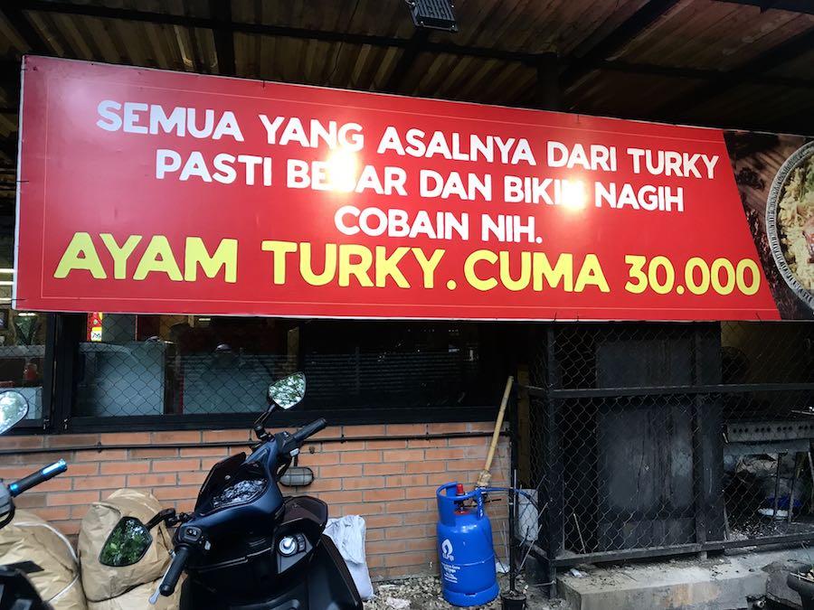 heytheregrace.com | Rumah Makan Marase - Ayam Turky Rp 30.000,00