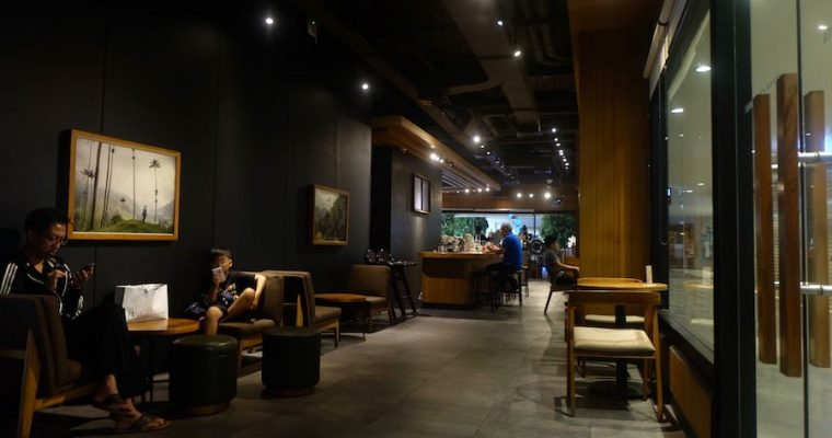 From Where I Write : Starbucks Coffee at 23 Paskal Mall, Bandung
