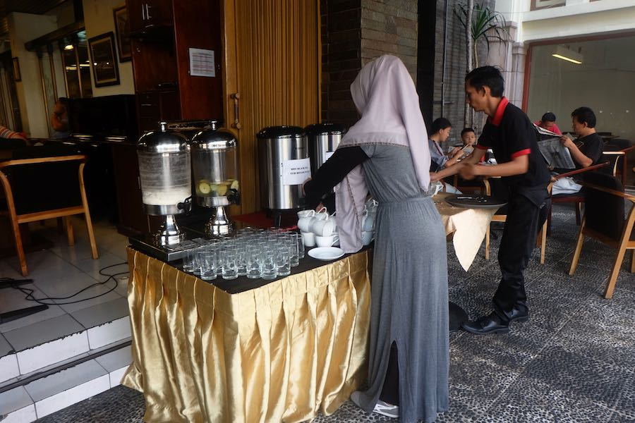 heytheregrace.com | Breakfast at Braga Permai Bandung - Drink Station