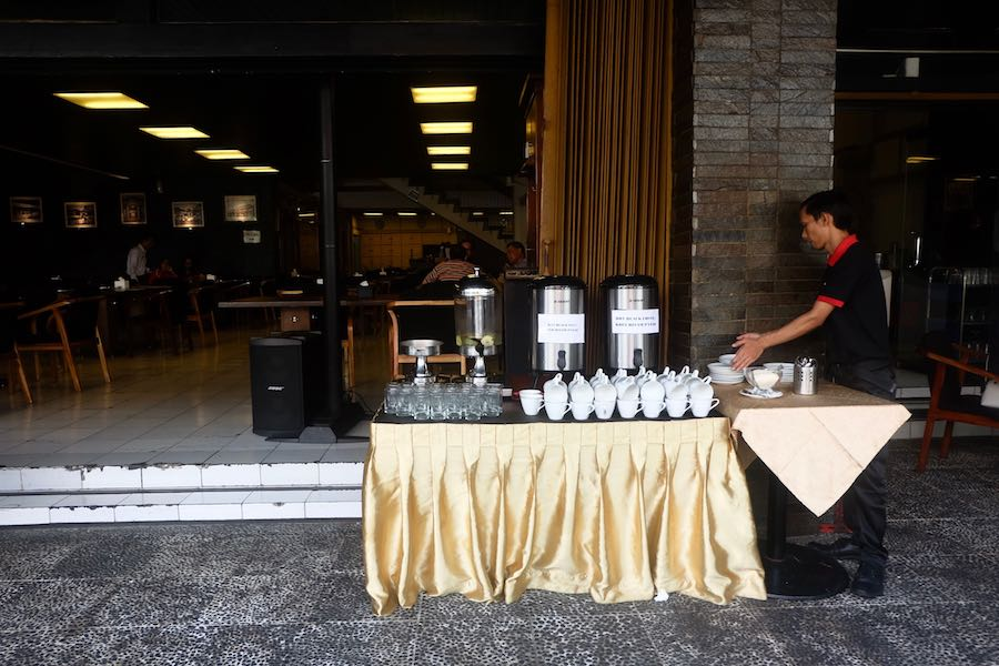 heytheregrace.com | Breakfast at Braga Permai Bandung - Free Drink Station