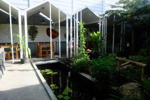 heytheregrace.com   Greens and Bean Bandung - backyard