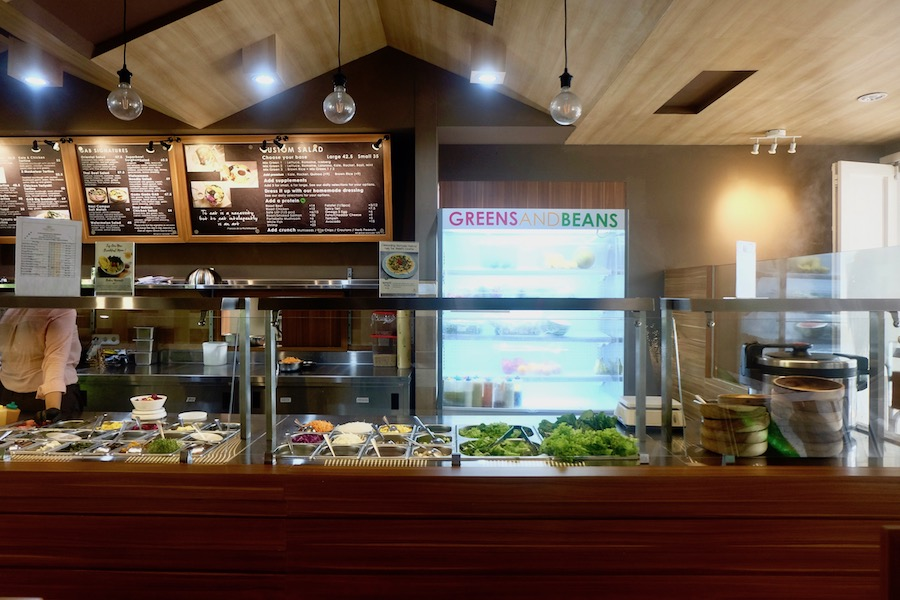 heytheregrace.com | Greens and Bean Bandung - salad bar