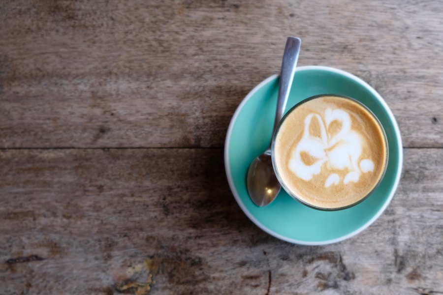 heytheregrace.com | Cafe Latte at Eugene the Goat