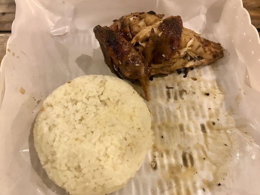 heytheregrace.com | Roasted Bar Bandung - Quarter Chicken + Butter Rice