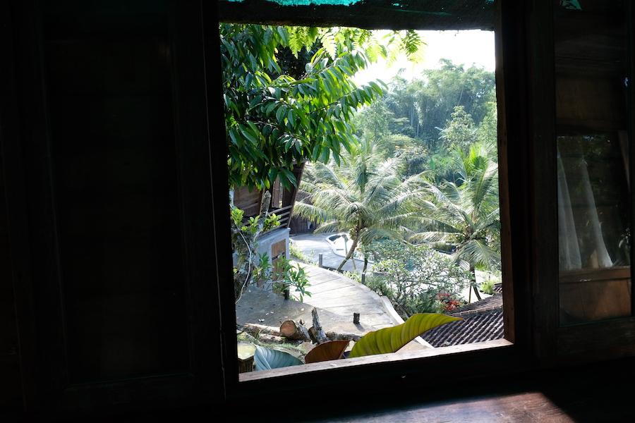 heytheregrace.com | Kampung Lumbung Boutique Hotel, Batu, Malang | view from omah pohon