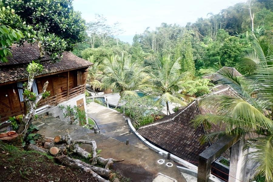 heytheregrace.com | Area Cottage dan Kolam Renang di Kampung Lumbung Boutique Hotel, Batu, Malang