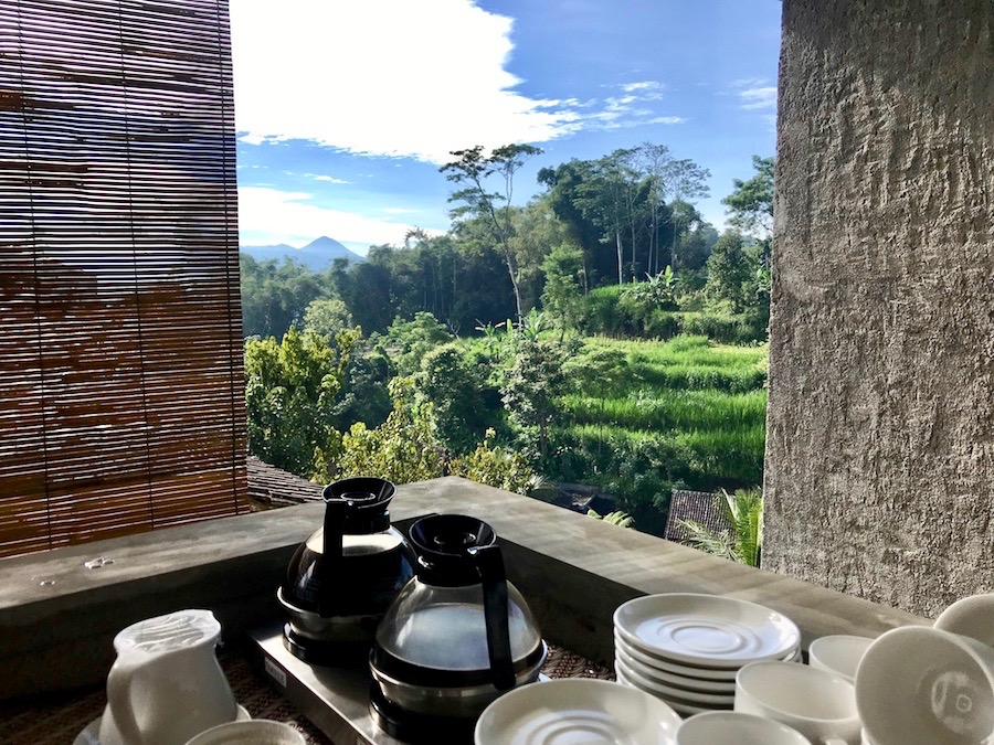 heytheregrace.com | Breakfast with a View at Kampung Lumbung Boutique Hotel, Batu, Malang