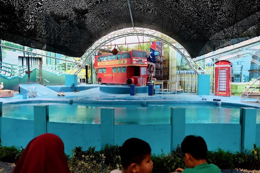 heytheregrace.com | Batu Secret Zoo, Jatim Park 2, Malang | Pertunjukan Singa Laut | Willy & Laro Show