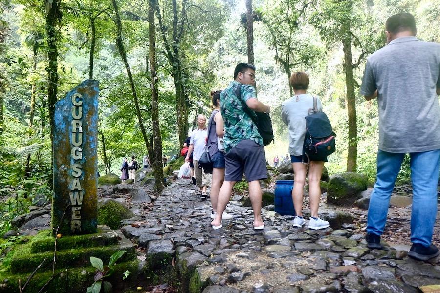 heytheregrace.com   Situ Gunung Suspension Bridge   Curug Sawer