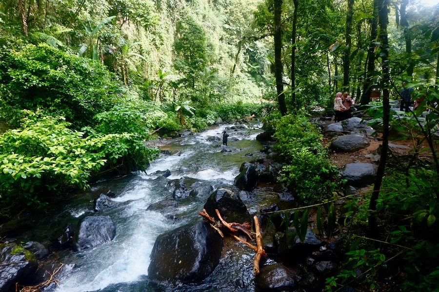 heytheregrace.com   Situ Gunung Suspension Bridge   Sungai di Curug Sawer