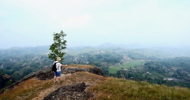 Trekking Gunung Api Purba Nglanggeran, Yogyakarta