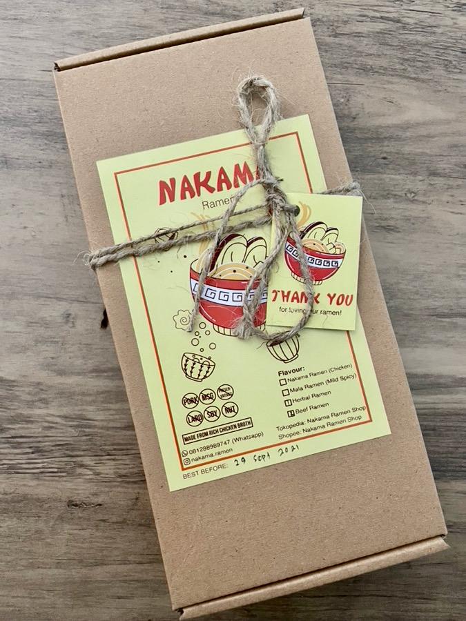 heytheregrace.com   Review Nakama Ramen - Ramen Siap Masak   Ready to Cook Japanese Ramen